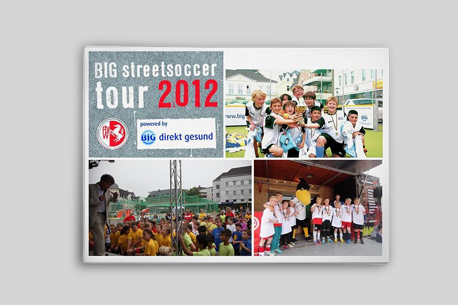 BIG Streetsoccer Tour 2012/2013 <span>Illustration</span>